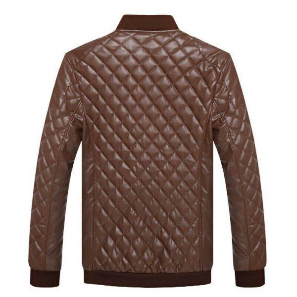Genuine Leather 100% Cowhide Men Jacket Winter Jacket